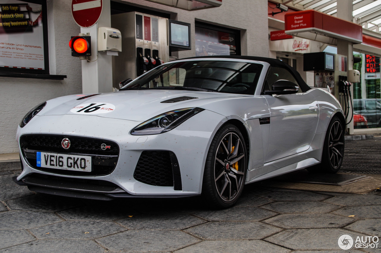 jaguar f type svr convertible 4 august 2016 autogespot. Black Bedroom Furniture Sets. Home Design Ideas