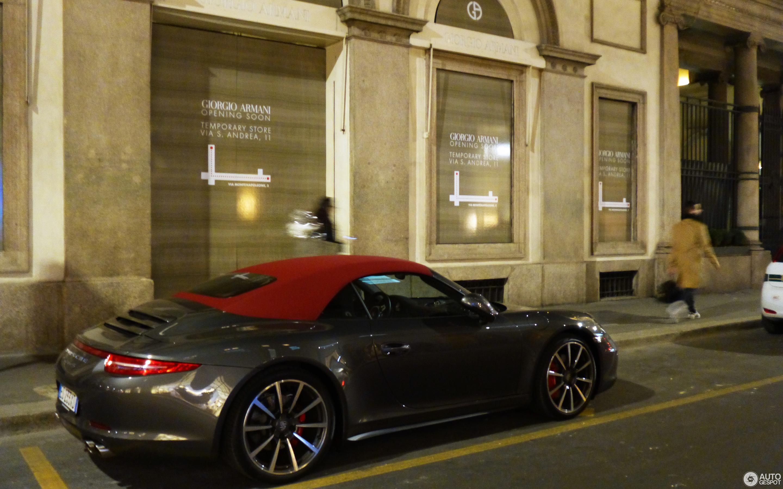 Porsche 991 Carrera 4s Cabriolet 5 August 2016 Autogespot
