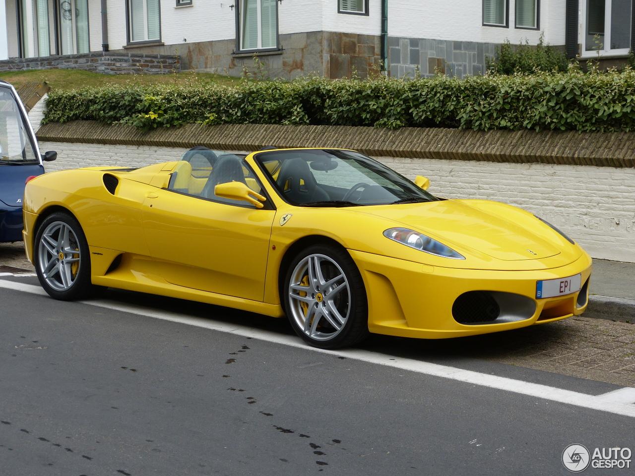 Ferrari F430 Spider 7 August 2016 Autogespot