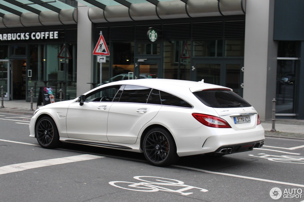 mercedes amg cls 63 s x218 shooting brake 2016 7 august 2016 autogespot. Black Bedroom Furniture Sets. Home Design Ideas