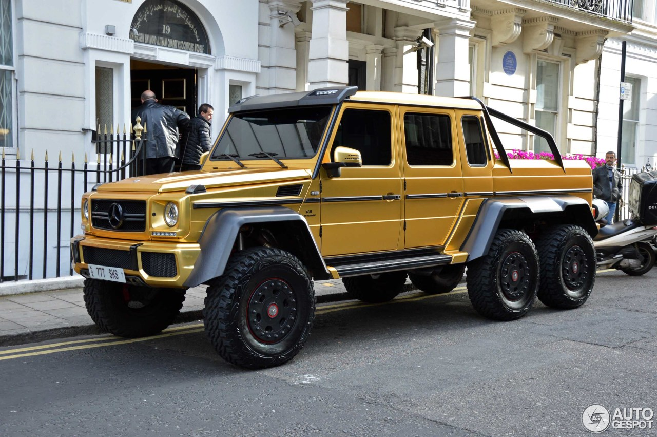 Mercedes-Benz G 63 AMG 6x6 - 8 August 2016 - Autogespot