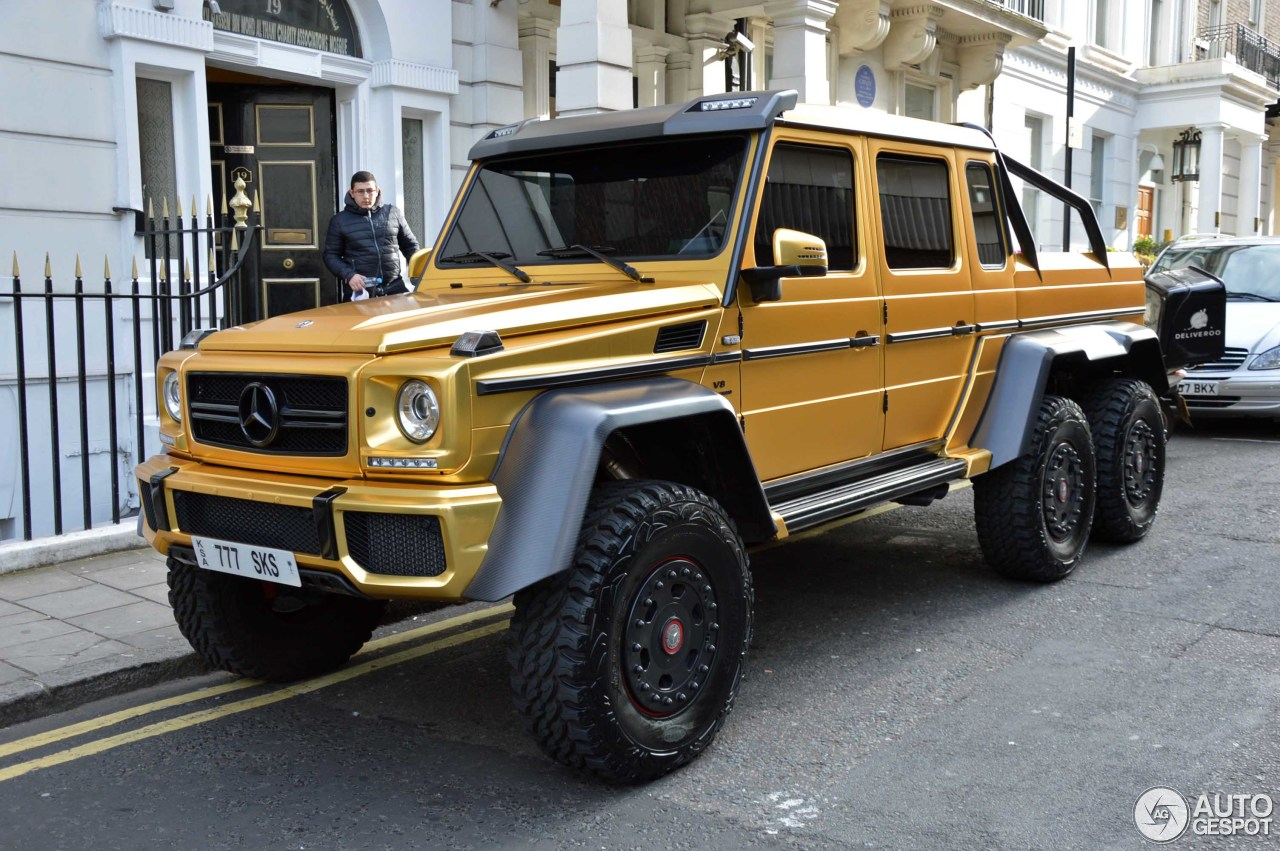 Mercedes Benz G 63 Amg 6x6 8 August 2016 Autogespot