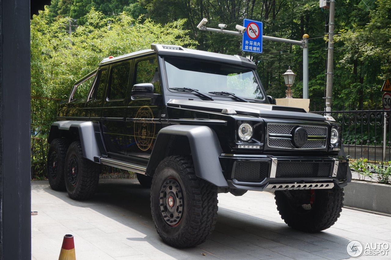 Mercedes benz g 63 amg 6x6 10 august 2016 autogespot for Mercedes benz g 63 amg 6x6