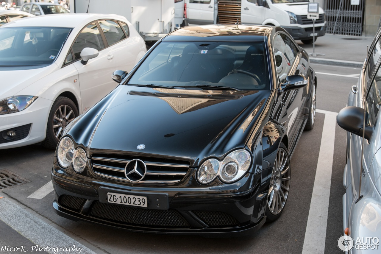 Mercedes benz clk 63 amg black series 11 august 2016 for Mercedes benz clk black series