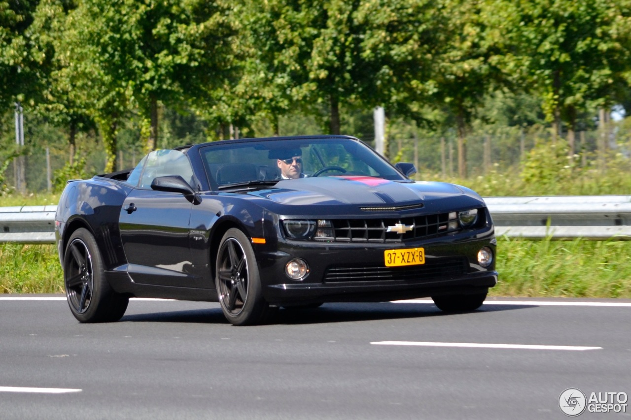 Chevrolet Camaro Ss 45th Anniversary Edition Convertible