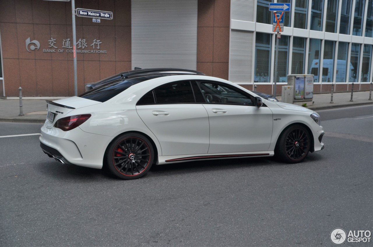 Mercedes benz cla 45 amg edition 1 c117 12 august 2016 for Mercedes benz cla45 amg 0 60