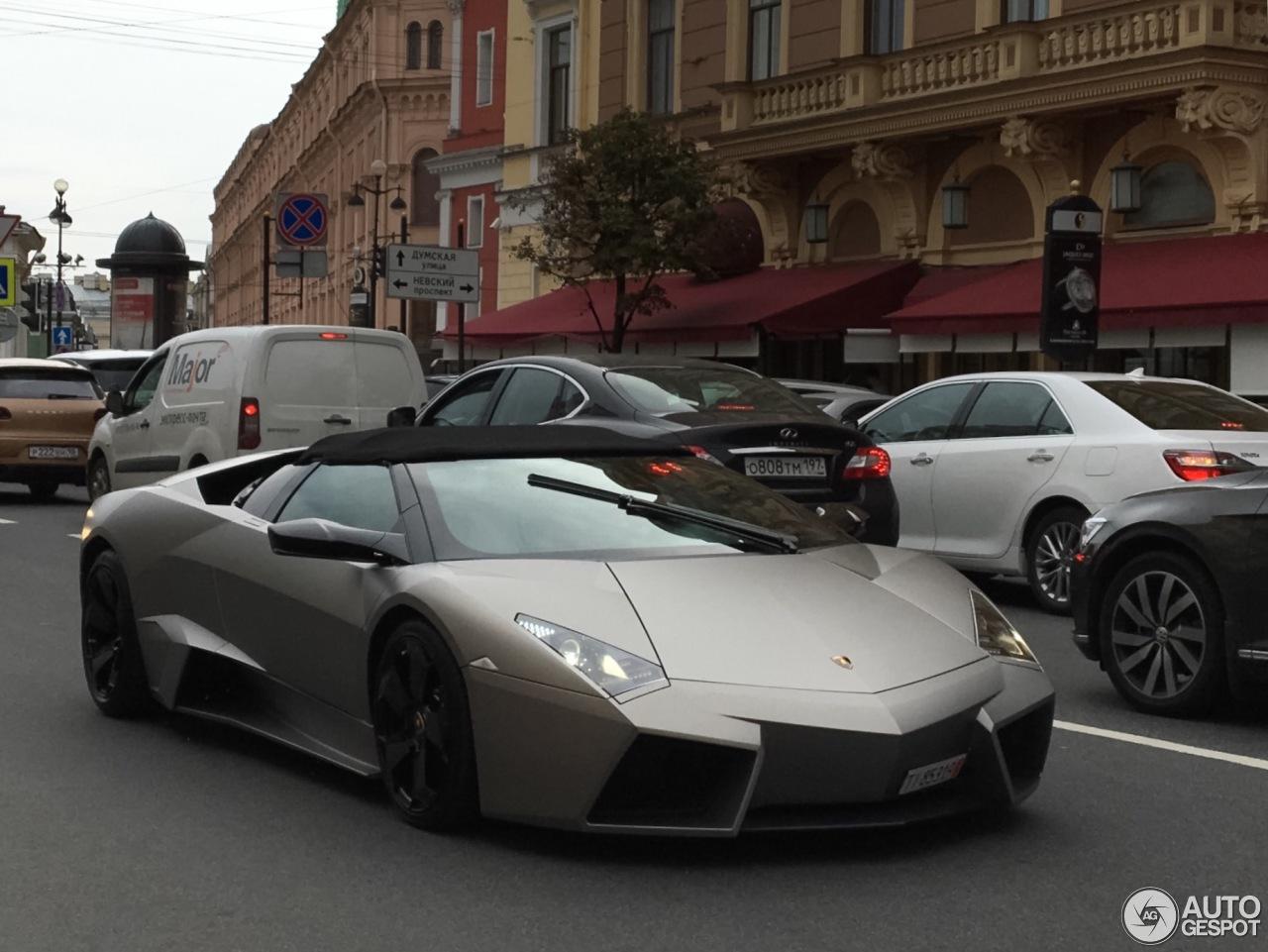 Lamborghini Revent 243 N Roadster 13 August 2016 Autogespot
