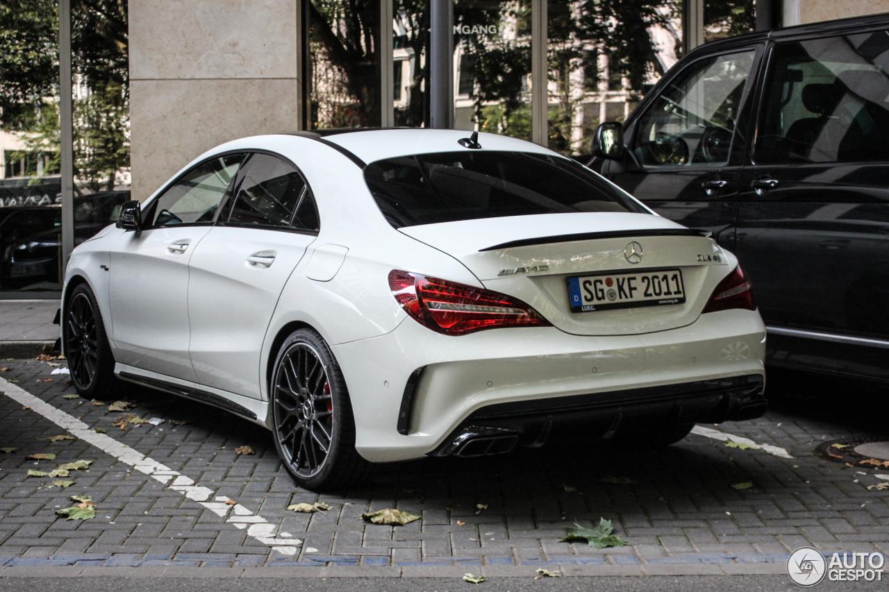 Mercedes Amg Cla 45 C117 2017 14 August 2016 Autogespot