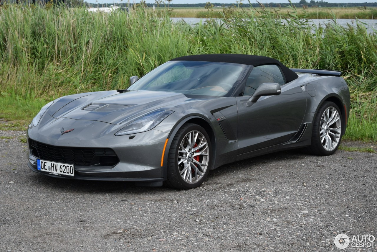 Chevrolet Corvette C7 Z06 Convertible 15 August 2016