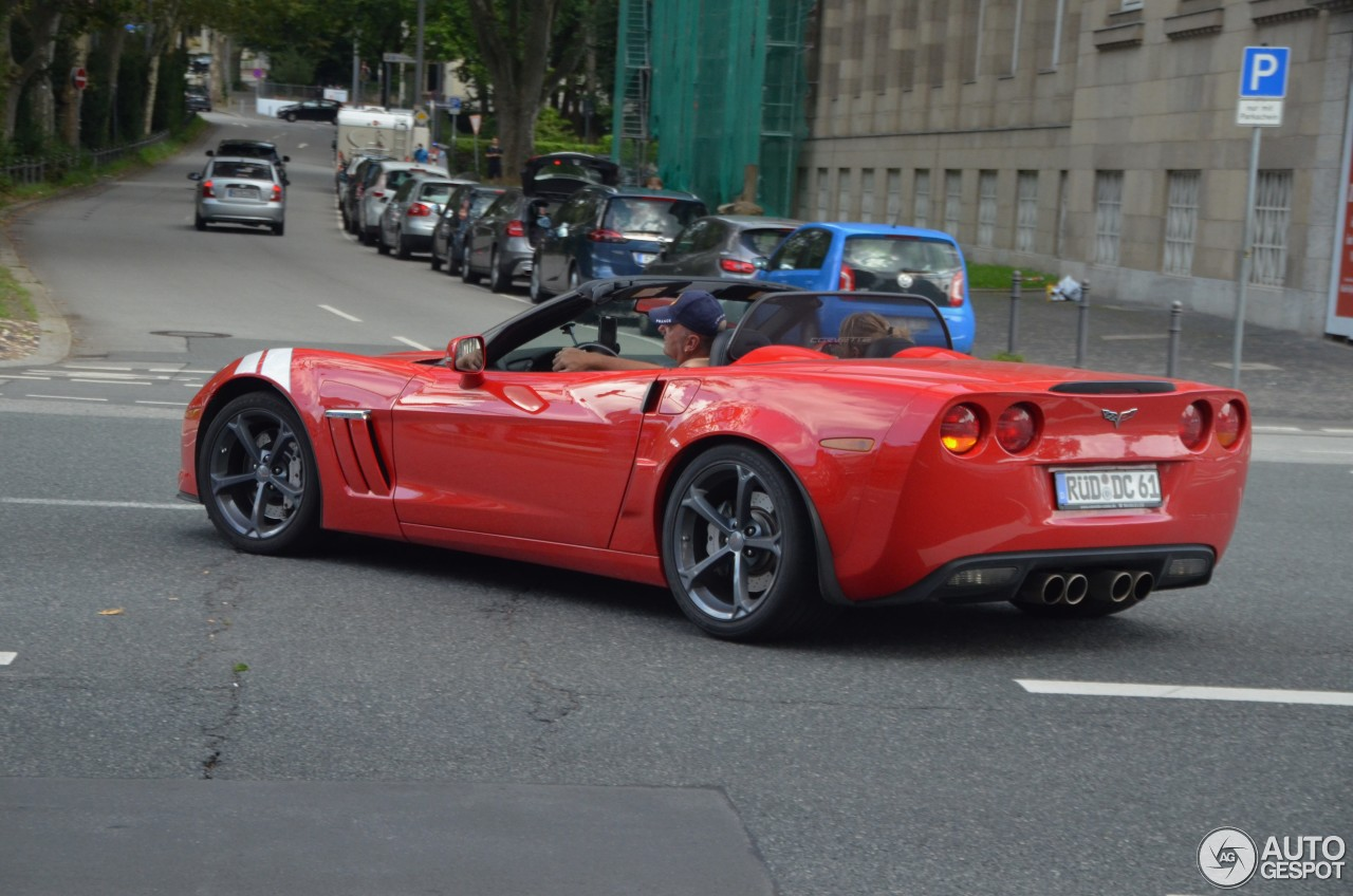 Chevrolet Corvette C6 Grand Sport Convertible 16 August