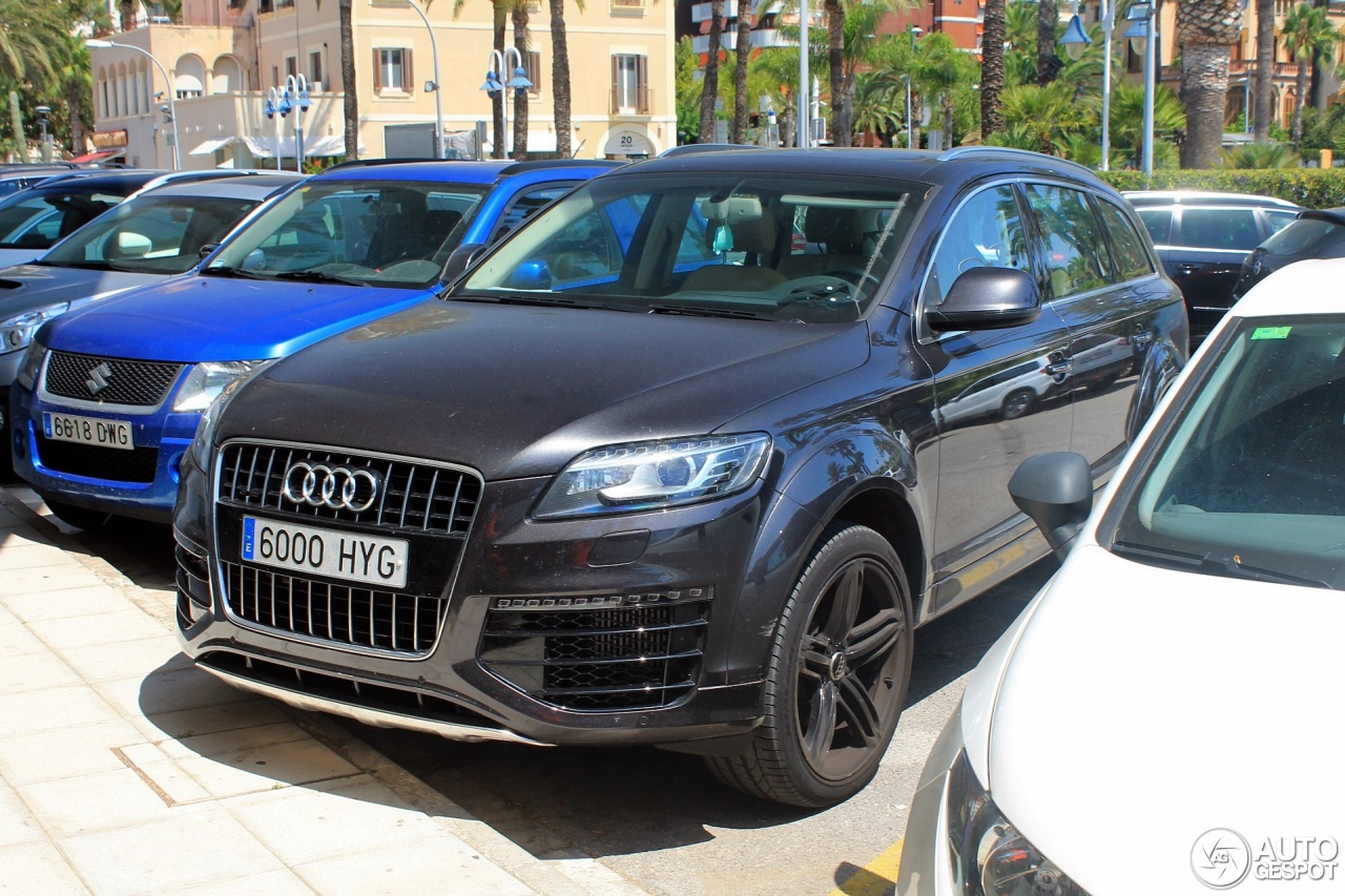 audi q7 v12 tdi 17 august 2016 autogespot. Black Bedroom Furniture Sets. Home Design Ideas