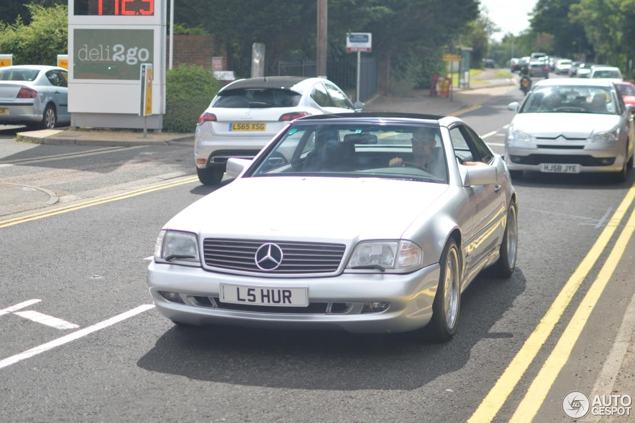 Mercedes benz sl 73 amg r129 17 august 2016 autogespot for 08 mercedes benz