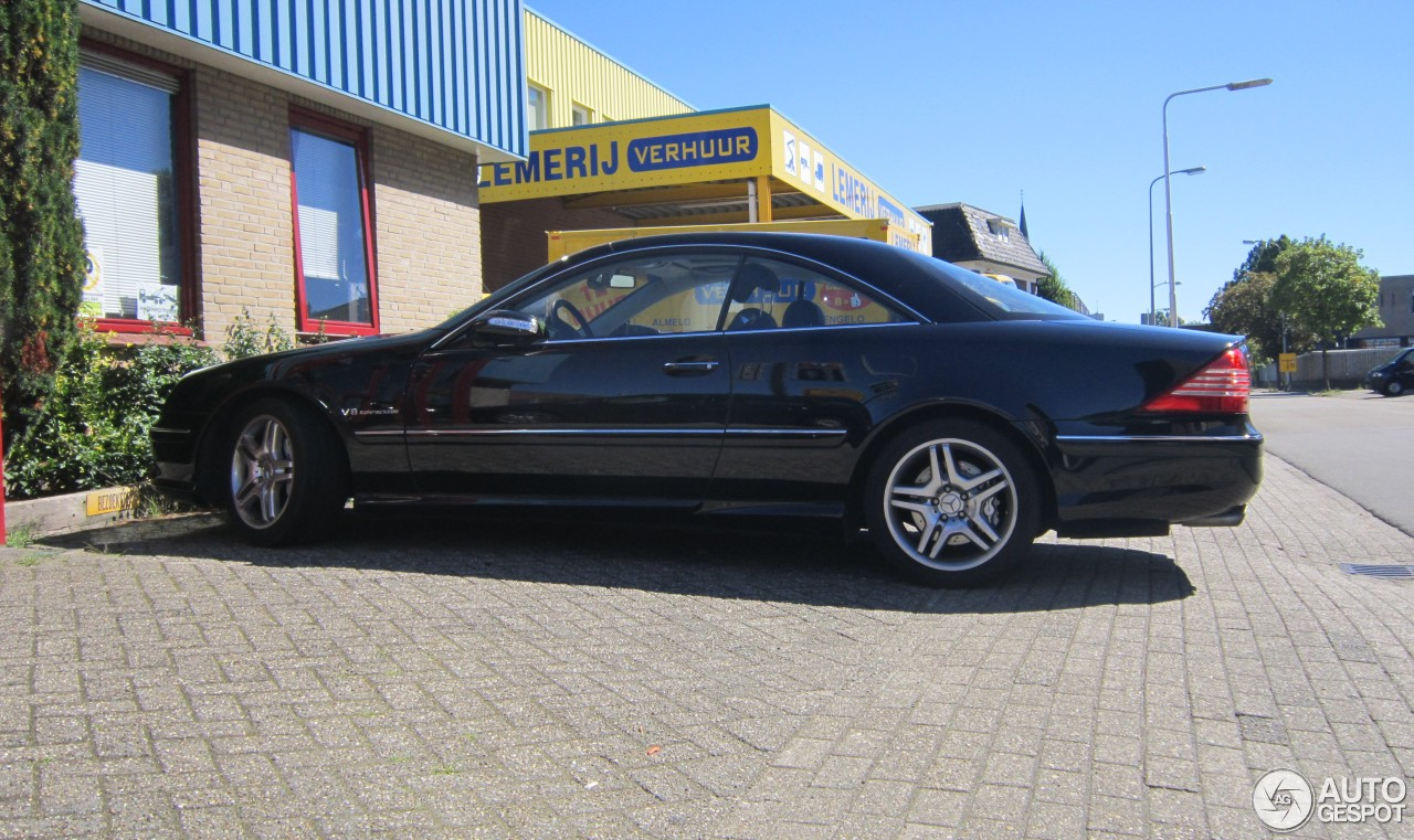 Mercedes benz cl 55 amg c215 kompressor 18 august 2016 for Mercedes benz cl 55 amg