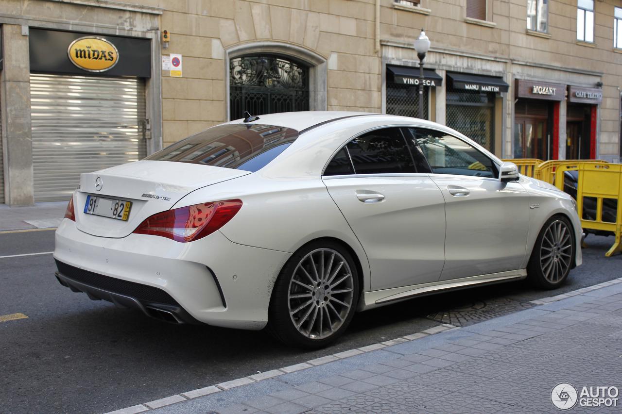Mercedes benz cla 45 amg c117 18 august 2016 autogespot for Mercedes benz cla45 amg 0 60