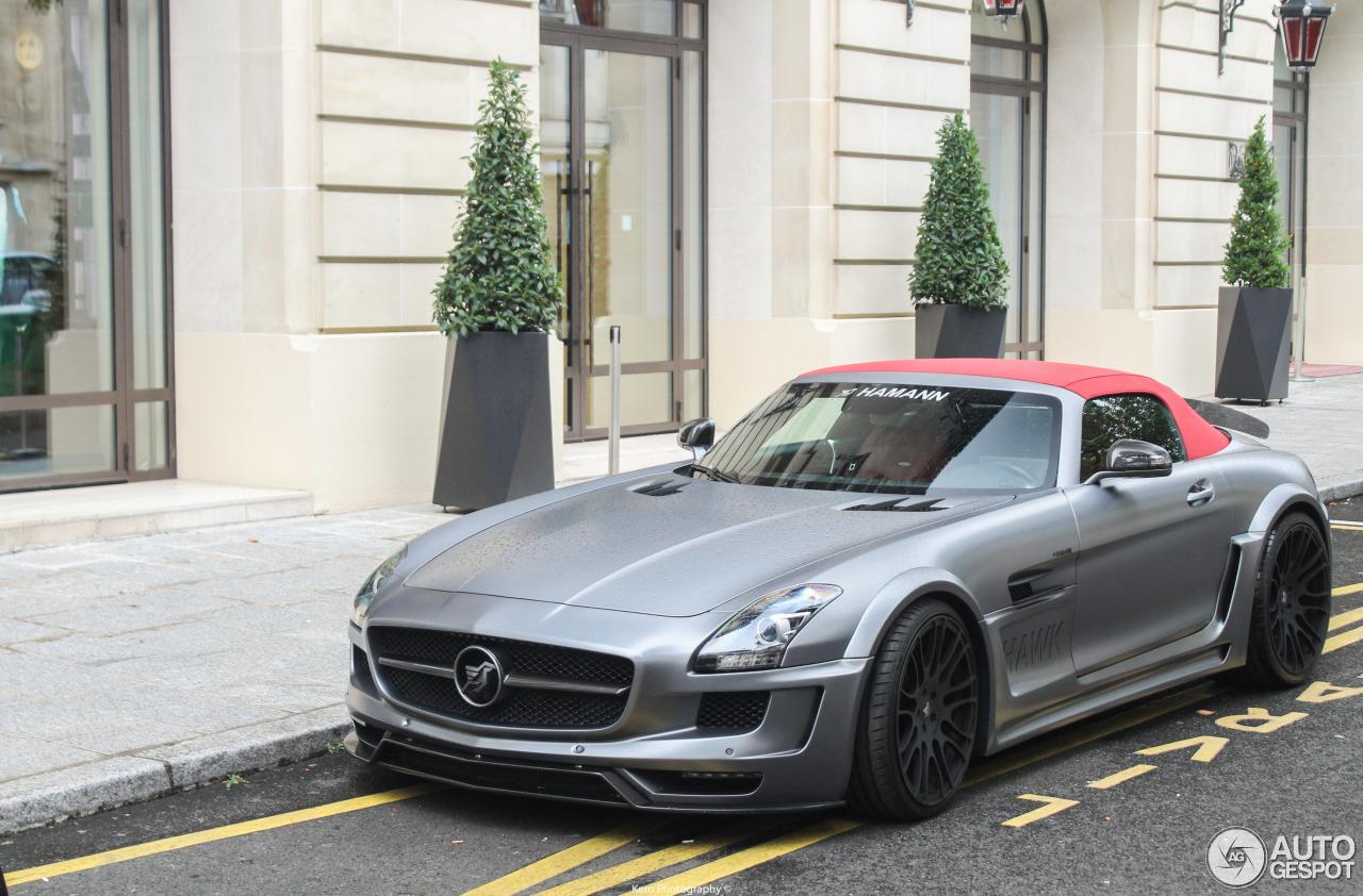 Mercedes benz hamann hawk sls amg roadster 19 august for Mercedes benz hamann