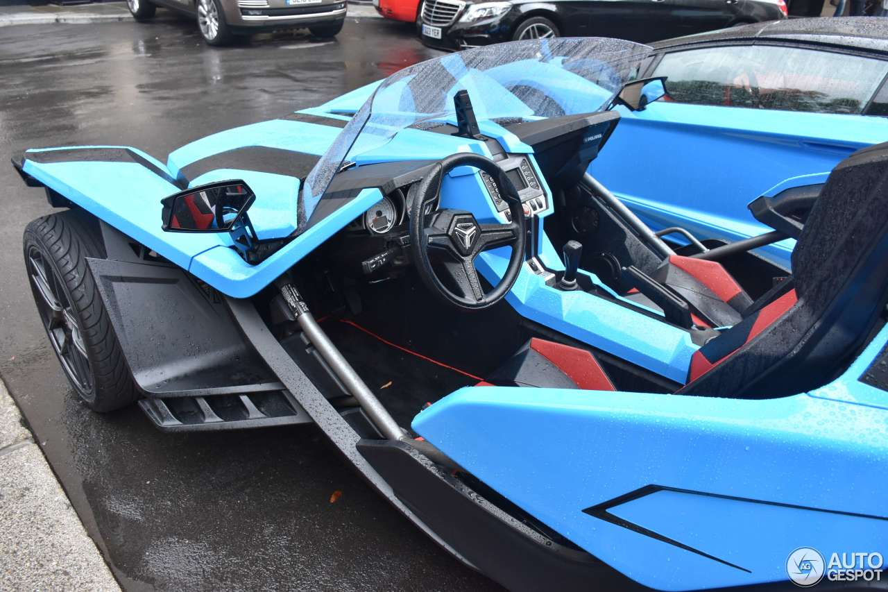 polaris slingshot sl 19 august 2016 autogespot. Black Bedroom Furniture Sets. Home Design Ideas