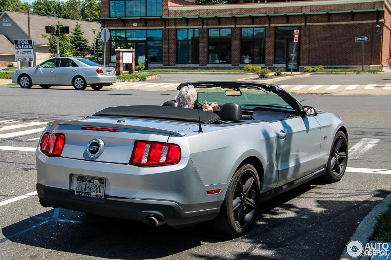 Ford Mustang Gt Convertible 2010 20 August 2016 Autogespot