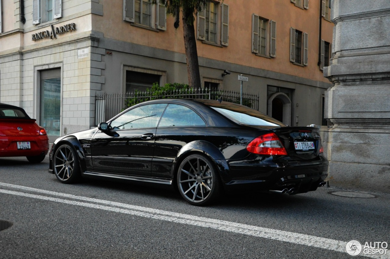 Mercedes benz clk 63 amg black series 23 august 2016 for Mercedes benz clk black series