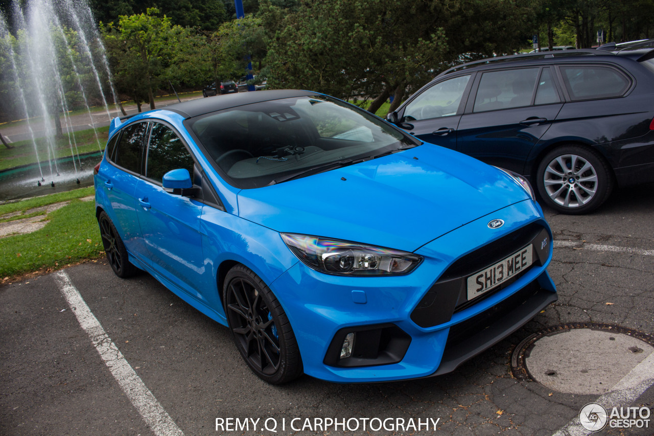 ford focus rs 2015 24 august 2016 autogespot. Black Bedroom Furniture Sets. Home Design Ideas