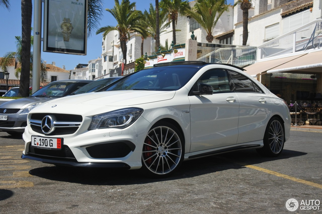 Mercedes benz cla 45 amg c117 26 august 2016 autogespot for All types of mercedes benz cars