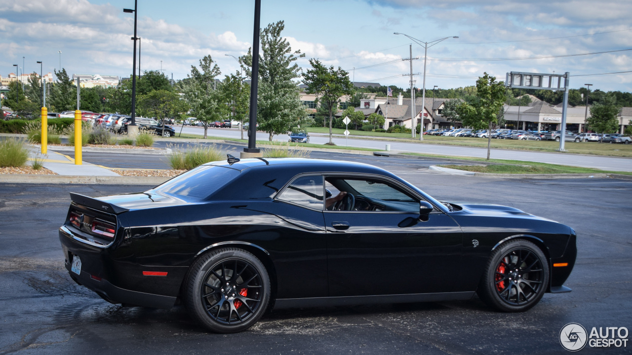 Dodge Challenger Srt 8 Hellcat 29 August 2016 Autogespot