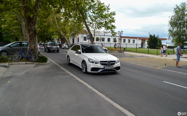 Mercedes Benz E 63 AMG S W212 29 August 2016 Autogespot