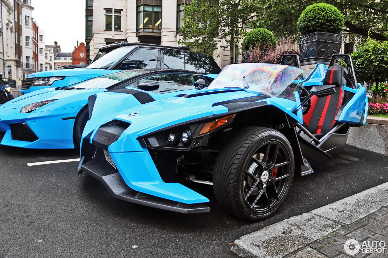 polaris slingshot sl 29 august 2016 autogespot. Black Bedroom Furniture Sets. Home Design Ideas