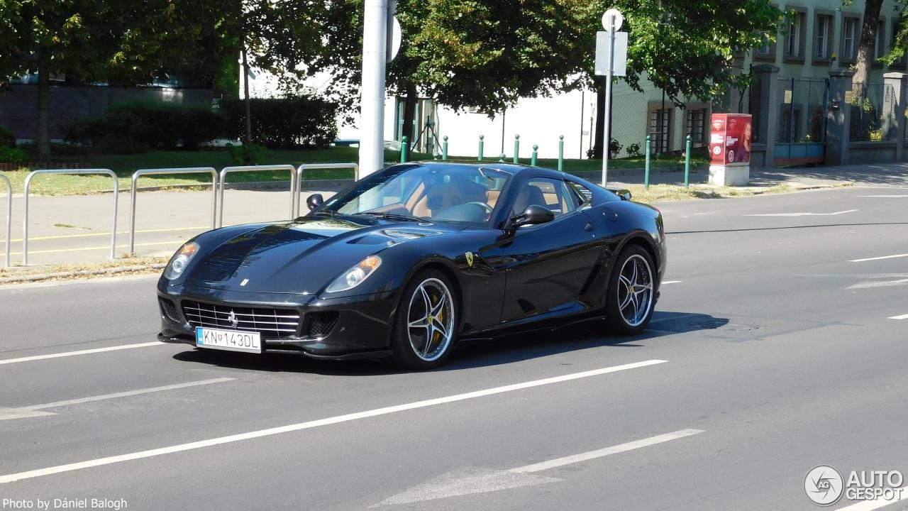 Exotic car spots worldwide hourly updated autogespot ferrari 599 gtb fiorano hamann vanachro Images