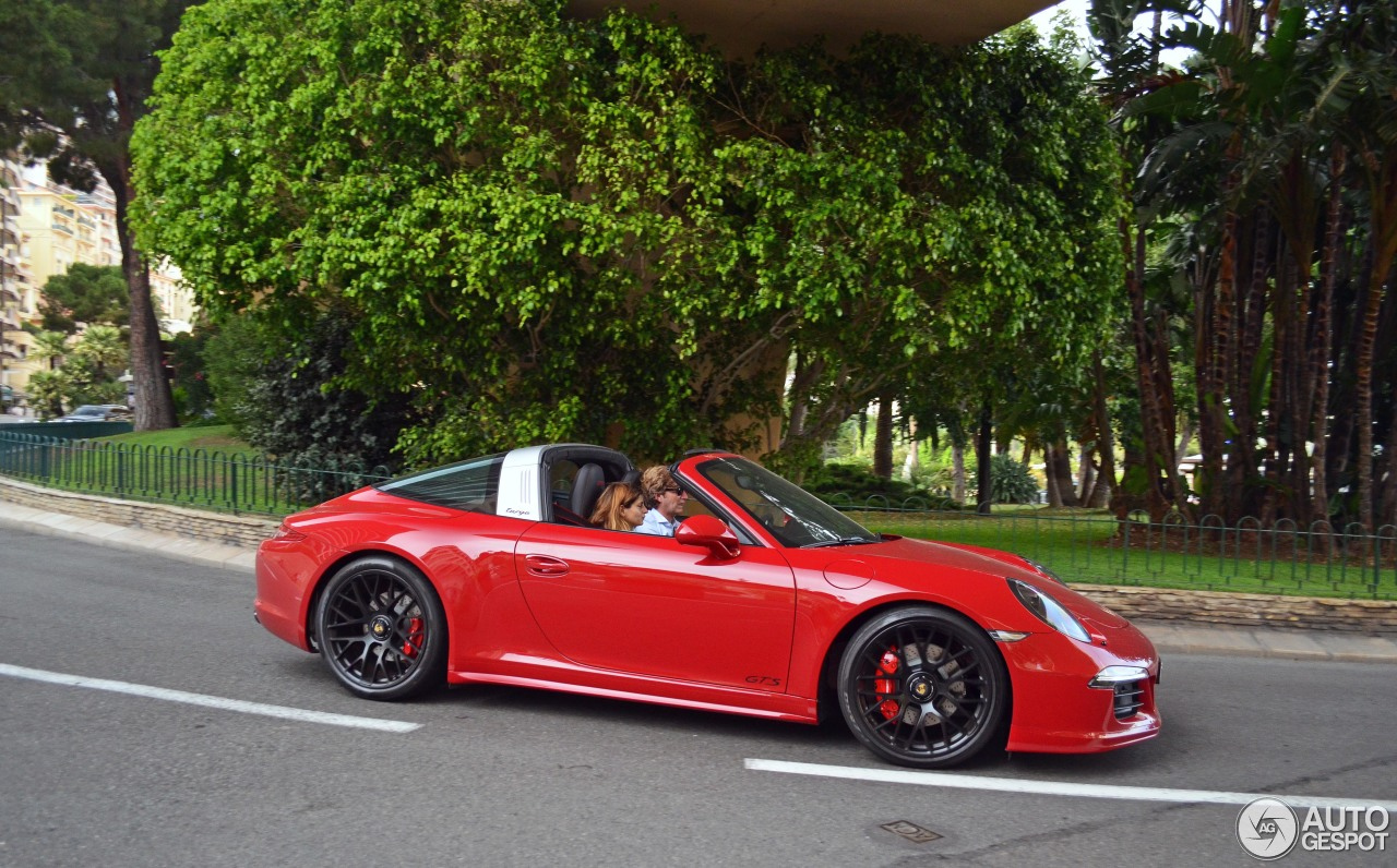 porsche 991 targa 4 gts 1 septembre 2016 autogespot. Black Bedroom Furniture Sets. Home Design Ideas