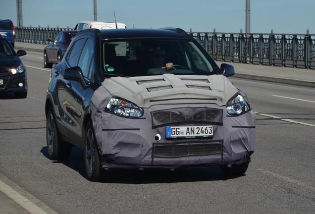 Opel Mokka Facelift 2016