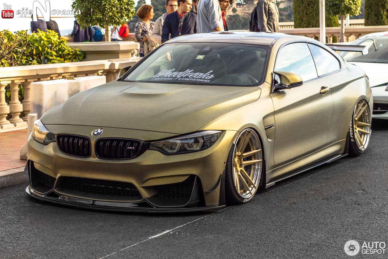 Bmw M4 F82 Coup 233 Z Performance 3 September 2016 Autogespot