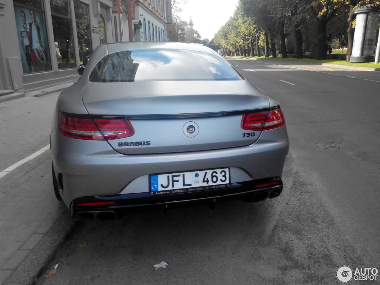 Mercedes benz brabus s b63s 730 coupe c217 3 september for Mercedes benz brabus price