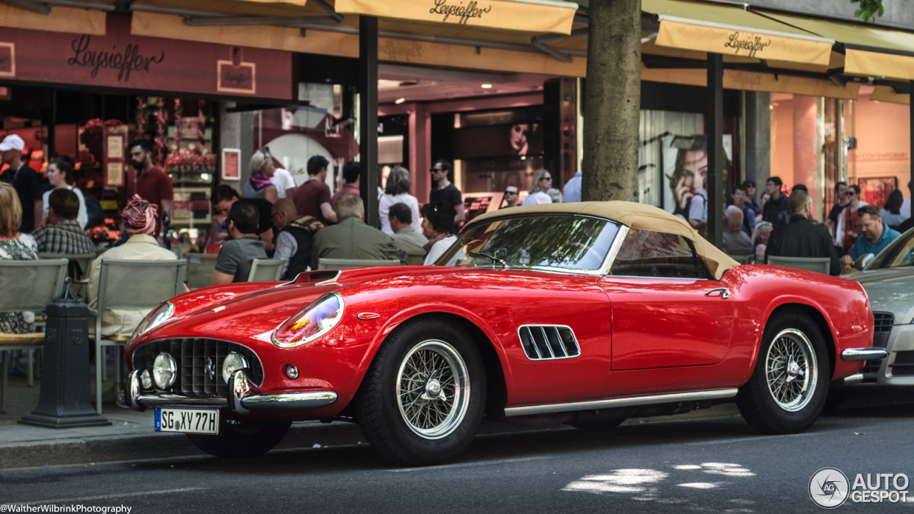 Images for gt ferrari 250 s - Ferrari 250 Gt California Spider 4 September 2016