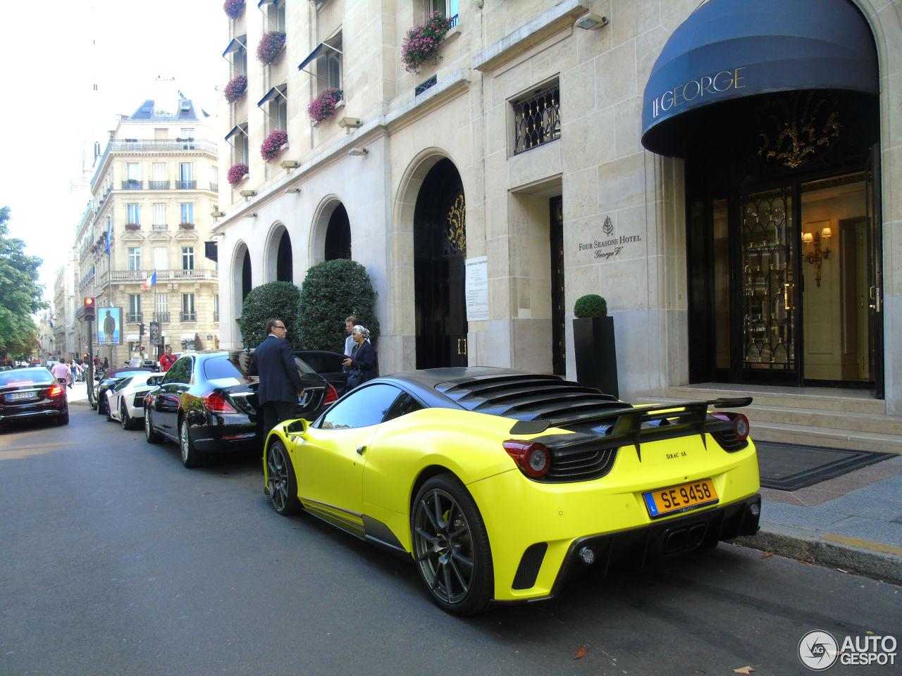Exotic car spots worldwide hourly updated autogespot ferrari 458 italia mansory siracusa vanachro Image collections