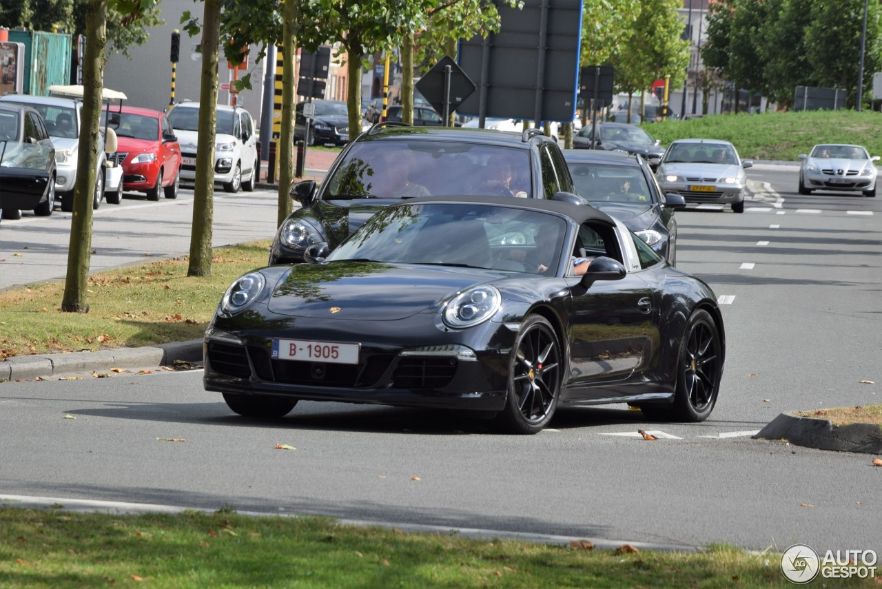 porsche 991 targa 4 gts 6 september 2016 autogespot. Black Bedroom Furniture Sets. Home Design Ideas