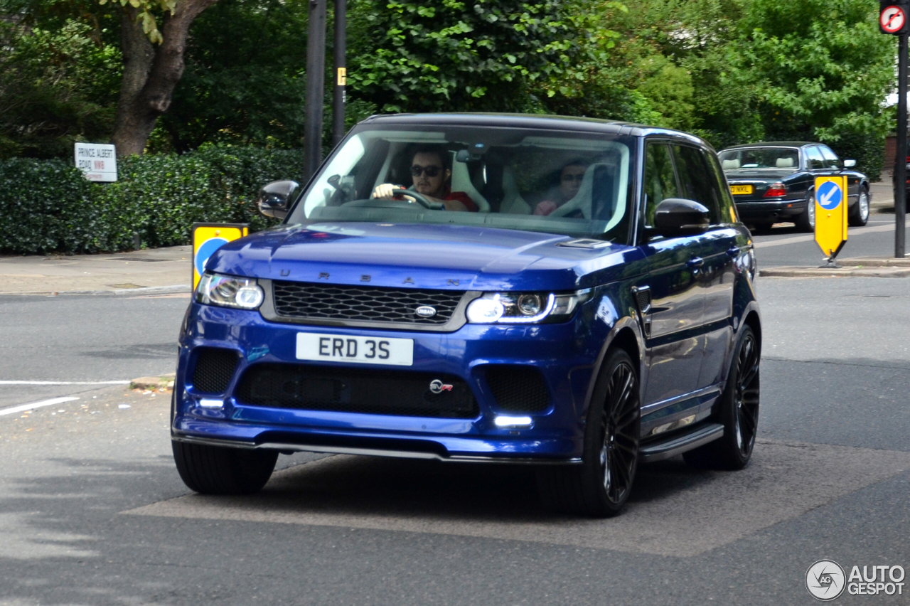 Land Rover Urban Range Rover Sport Svr 8 September 2016