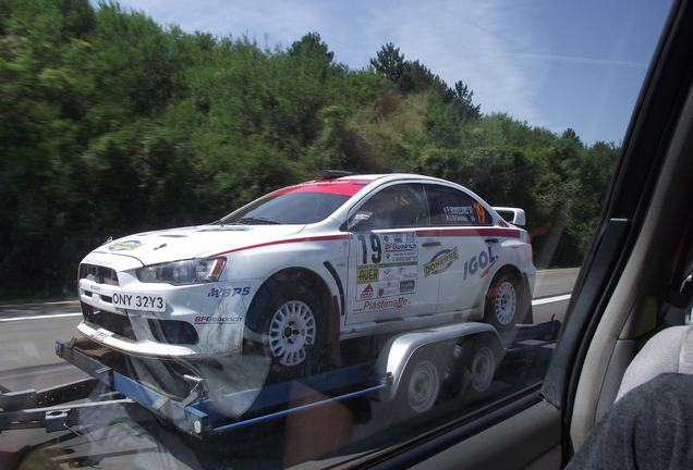 Mitsubishi Lancer Evolution X Group N
