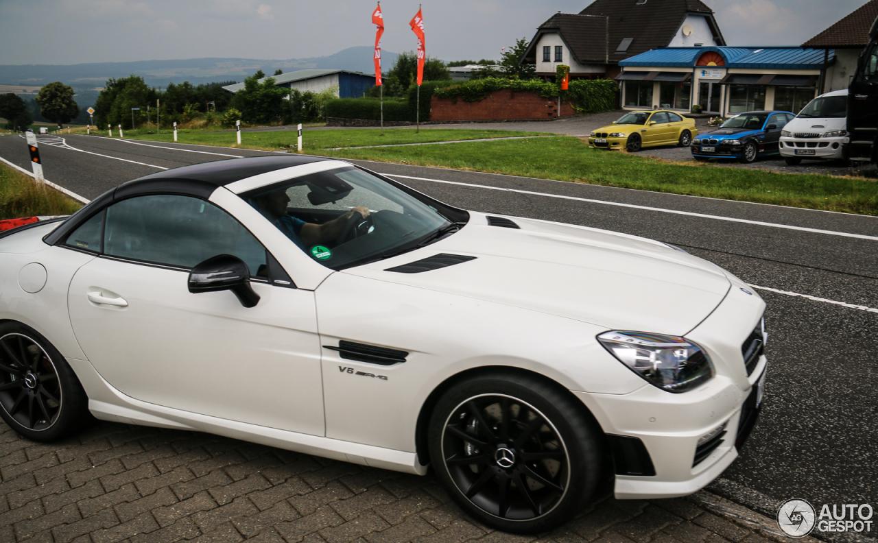 Mercedes benz slk 55 amg r172 carbonlook edition 12 for 2016 amg slk55 mercedes benz