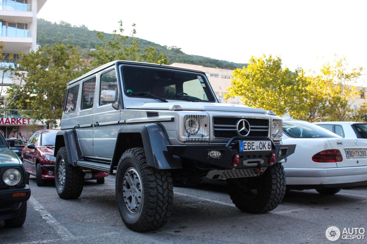 Mercedes Benz G55 Amg Kompressor 2010 Le Tech Bigfoot