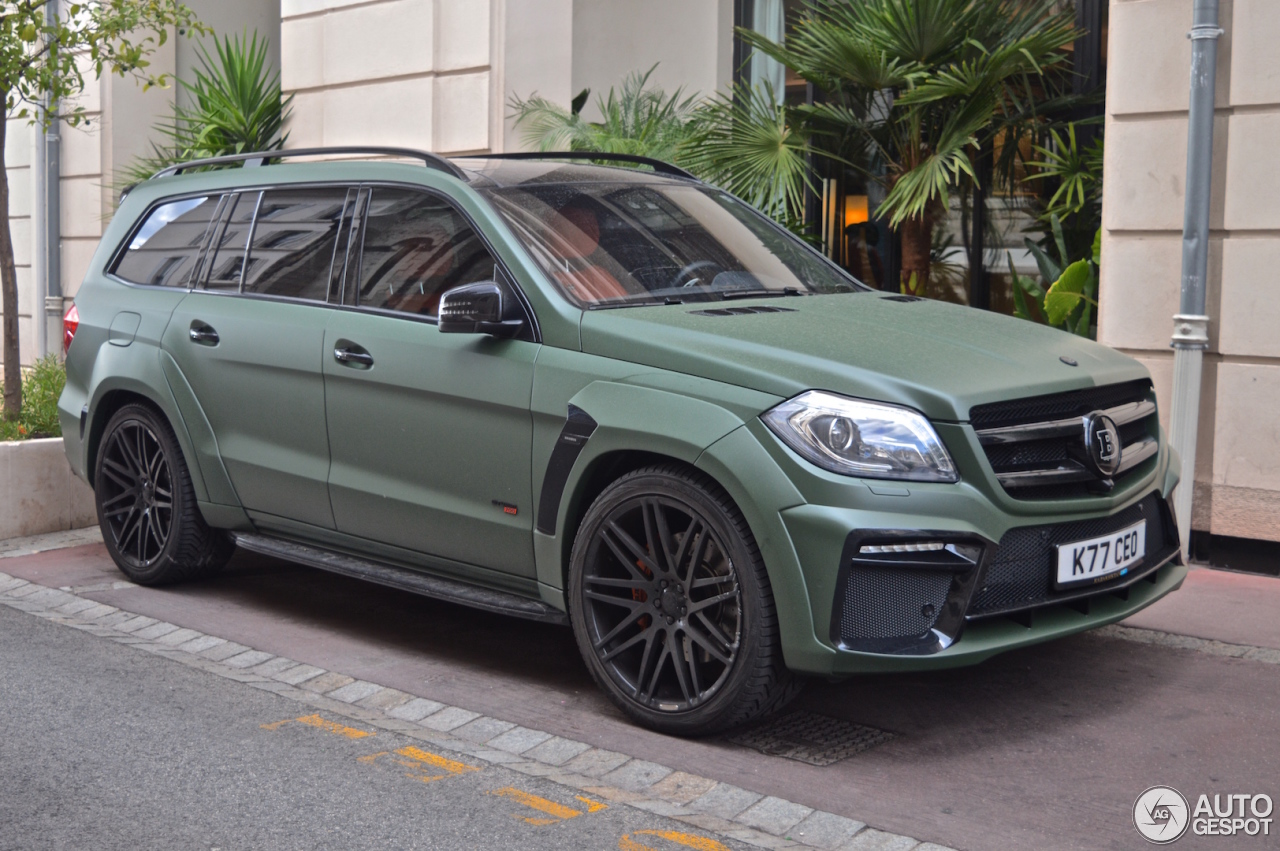 Mercedes Benz Brabus Gl B63s 700 Widestar 20 September 2016 Autogespot