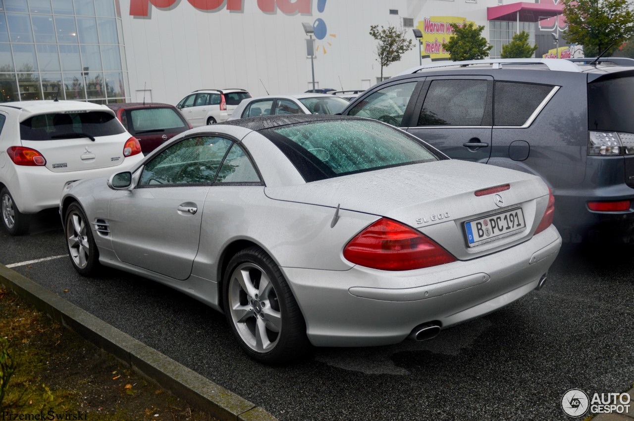 Mercedes benz sl 600 r230 21 september 2016 autogespot for Mercedes benz sl r230