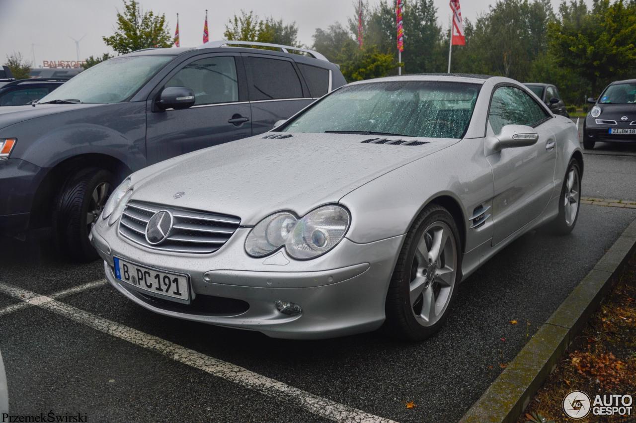 Mercedes benz sl 600 r230 21 settembre 2016 autogespot for Mercedes benz c 600