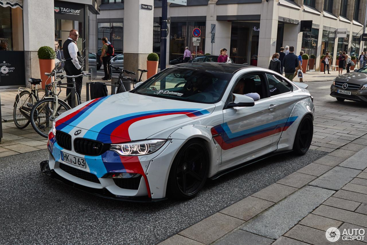 Bmw M4 Coupe >> BMW M4 F82 Coupé Liberty Walk widebody by JP Performance ...