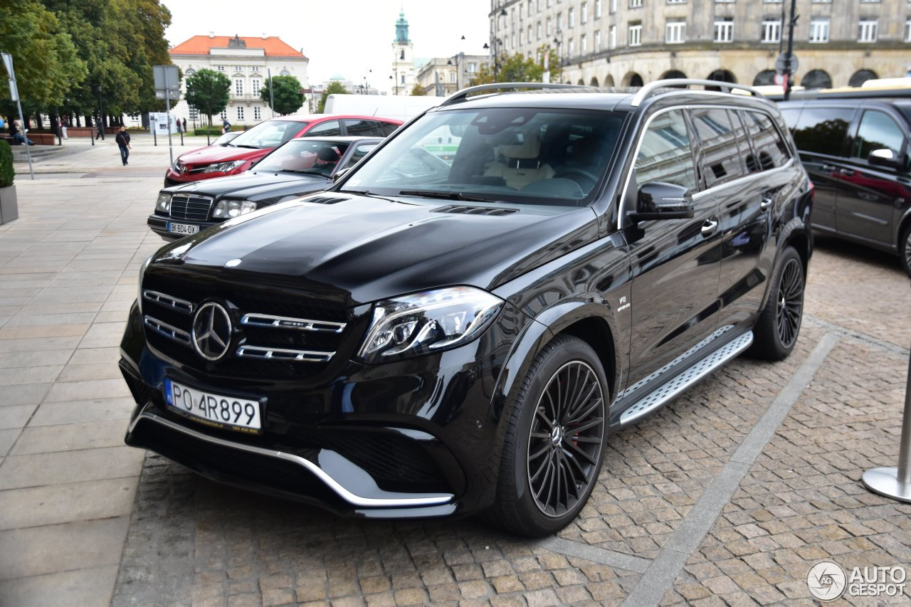 Mercedes amg gls 63 23 september 2016 autogespot for Mercedes benz gls 63 amg