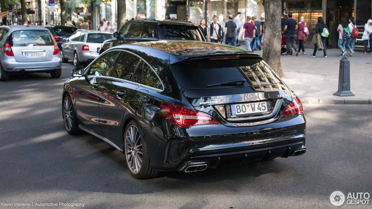 mercedes amg cla 45 shooting brake x117 2017 25 september 2016 autogespot. Black Bedroom Furniture Sets. Home Design Ideas