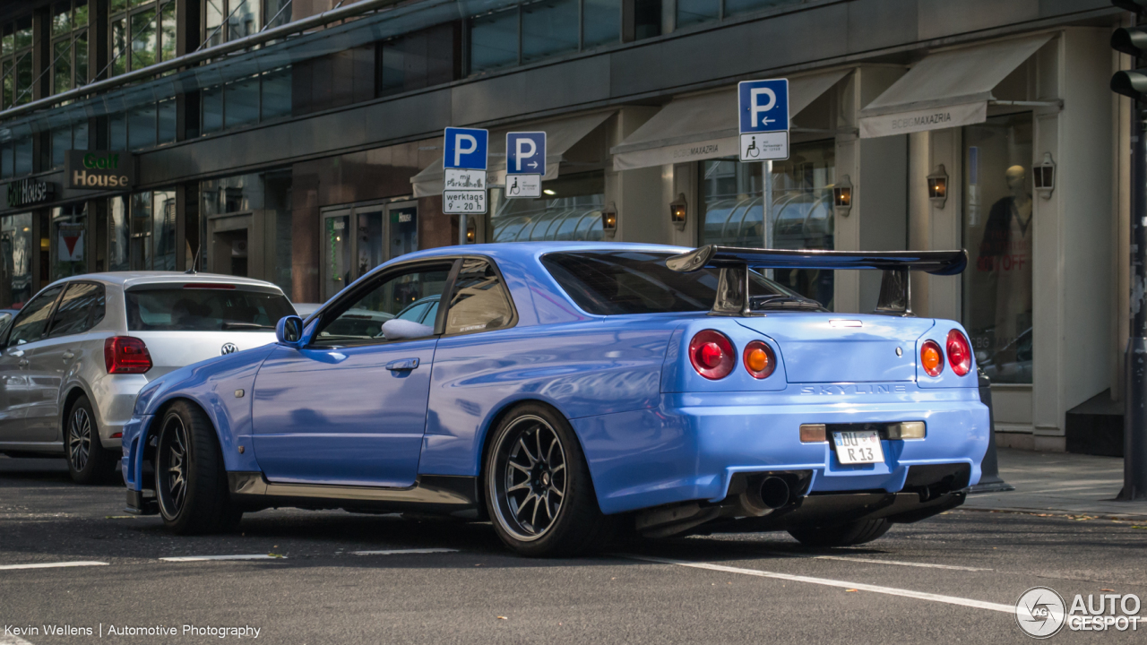 Nissan Skyline R34 Gt R 25 September 2016 Autogespot