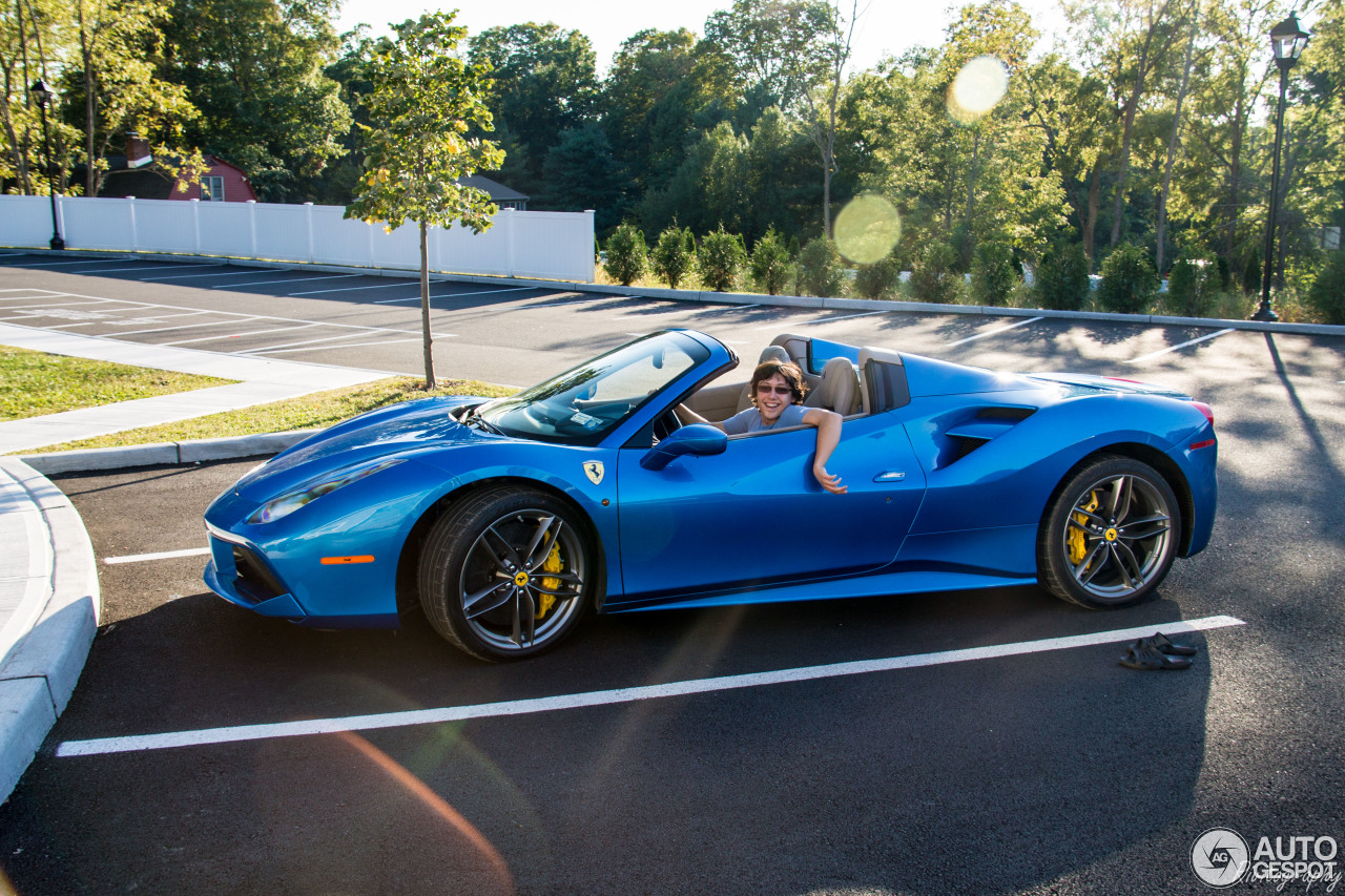 Ferrari 488 Autogespot >> Ferrari 488 Spider - 27 September 2016 - Autogespot