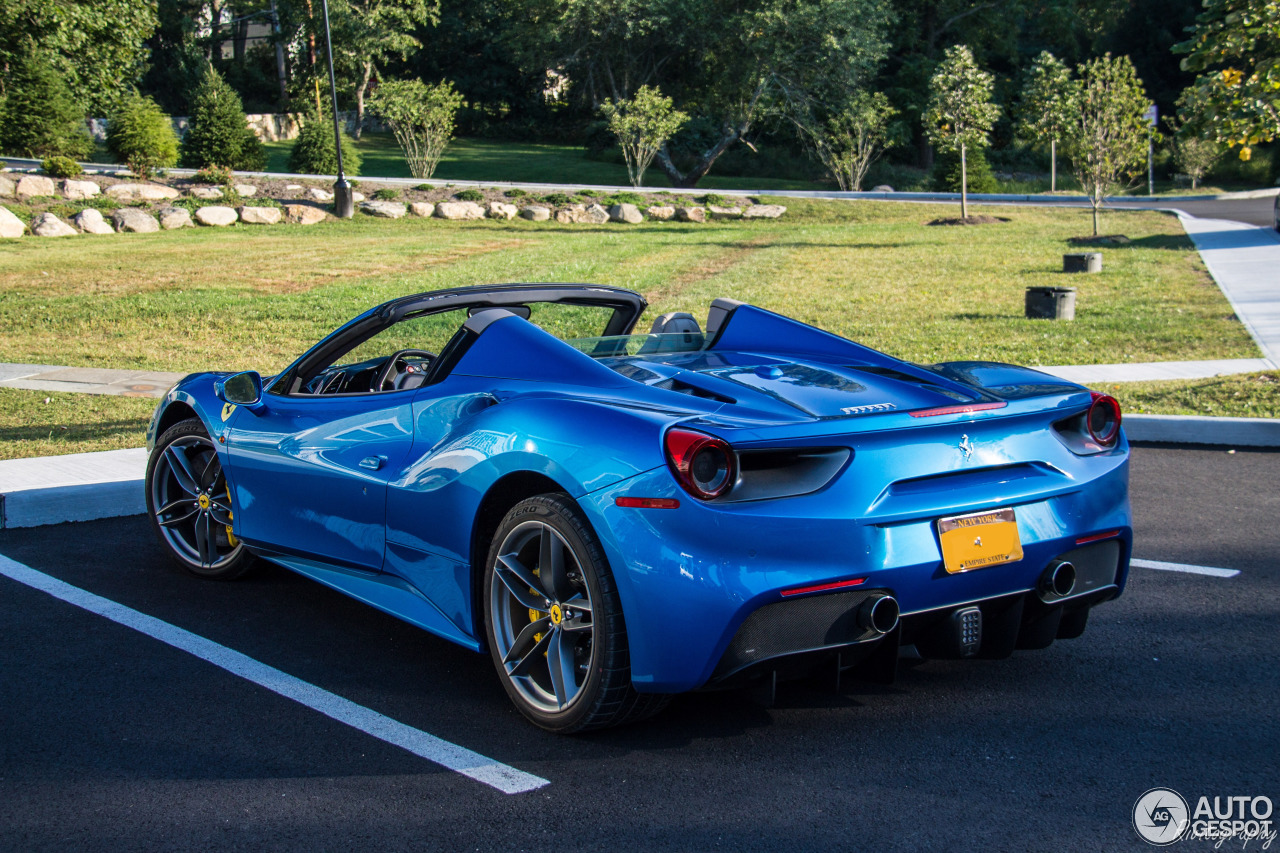 ferrari 488 spider 27 september 2016 autogespot. Black Bedroom Furniture Sets. Home Design Ideas
