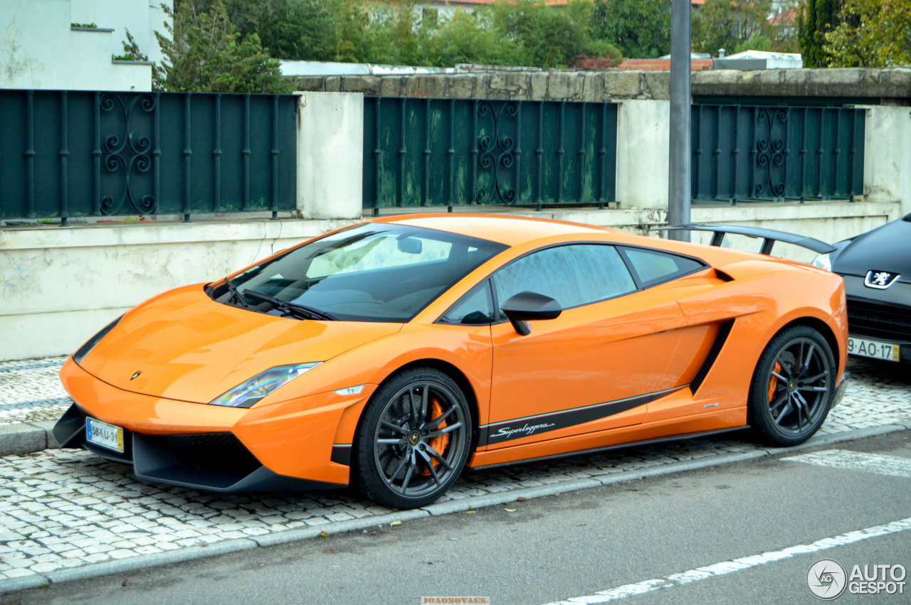 Delightful Lamborghini Gallardo LP570 4 Superleggera