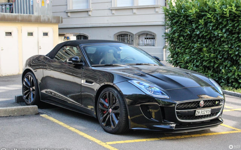 Jaguar F-TYPE R AWD Convertible - 28 September 2016 ...